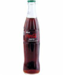 Refrigerante Coca Cola Zero Ks 290ml com 24 unidades