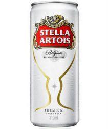 Cerveja Stella Artois Lata 269ml com 8 unidades