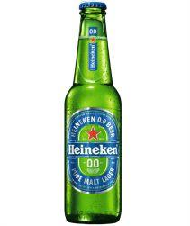 Cerveja Heineken Zero Long Neck 330ml com 24 unidades