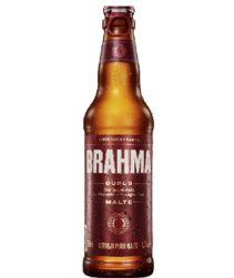 Cerveja Brahma Duplo Malte Long Neck 330ml com 24 unidades