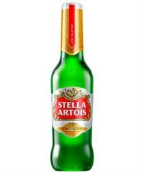 Cerveja Stella Artois sem Glúten Long Neck 330ml com 24 unidades