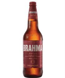 Cerveja Brahma Duplo Malte Garrafa 600ml com 12 unidades