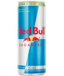 Energético Red Bull Sugar Free Lata 250ml com 04 unidades