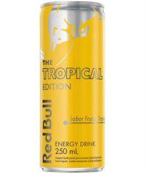 Energético Red Bull Tropical Lata 250ml com 04 unidades