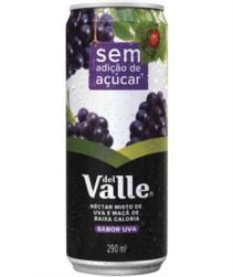 Suco Del Valle Uva Lata 290ml com 06 unidades