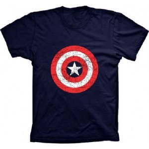 Camiseta Capitão América Style