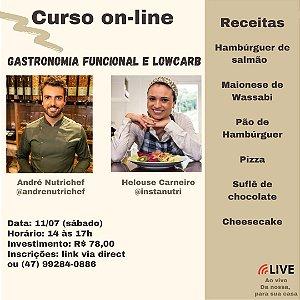 Curso on-line Gastronomia funcional