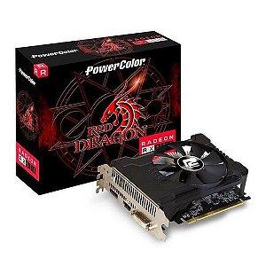 Placa De Vídeo Red Dragon Powercolor Radeon Rx 550 4Gb