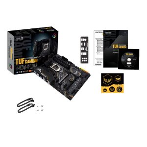 Placa Mãe Tuf Gaming Asus B460M-Plus Intel LGA 1200 10° Geração