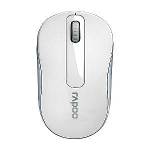 Mouse Rapoo 2.4 Ghz White Garantia 5 Anos Com Pilha - M10 - RA008