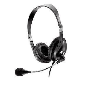 Fone De Ouvido Multilaser Com Microfone Premium Acoustic Preto Ps2 - PH041