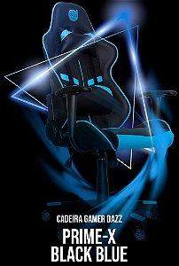 CADEIRA GAMER DAZZ PRIME-X PRETO/AZUL
