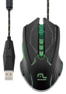 MOUSE GAMER 8 BOTOES 2500 DPI MULTILASER MO218