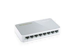 SWITCH TP-LINK TL-SF1008D DESKTOP COM 8PORTAS 10/100