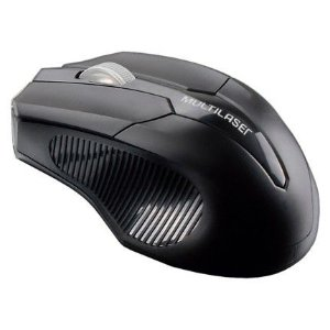 Mouse sem fio multilaser mo221 preto