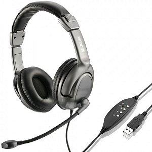 Headset multimidia usb multilaser ph043