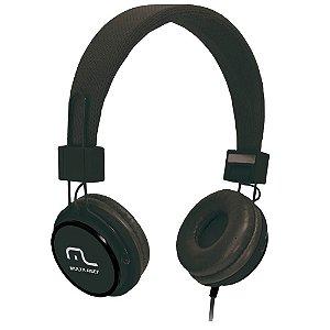 HEADFONE C/ MICROFONE HEADFUN MULTILASER PH115 PRETO
