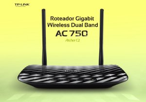 ARCHER C2 ROTEADOR TP-LINK WIRELESS DUALBAND GIGABIT AC750