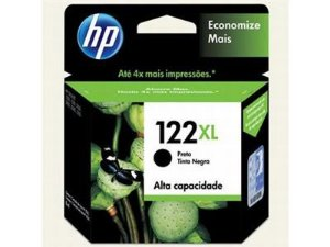 Cartucho Original Hp 122xl Preto Ch563hb
