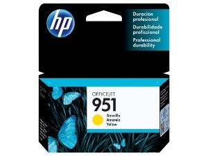 Cartucho Original Hp 951 Yellow Cn052al