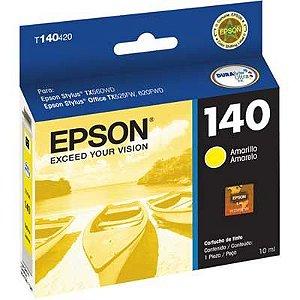 Cartucho Original Epson 140 Amarelo - T140420 Tx560wd