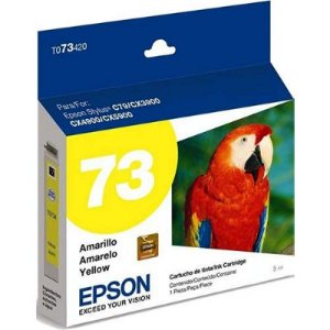 Cartucho Original Epson Amarelo 73n - T073420-br