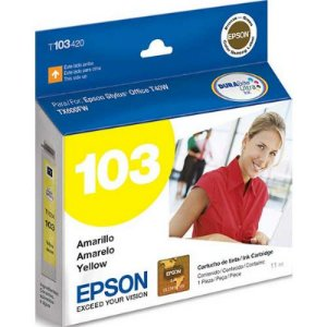 Cartucho Original Epson 103  Yellow - T40w T103420