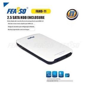 "Case Hd Fahd-11 2.5"" Sata - Usb 3.0 Feasso"