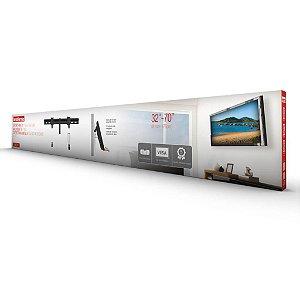 SUPORTE PRETO TV LED LCD 32 A 55 FIXO BRASFORMA SBRL501