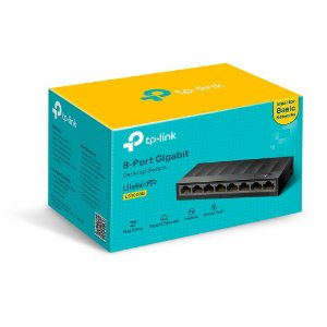 Switch Tp-link Ls1008g 8 Portas 10/100/1000mbps