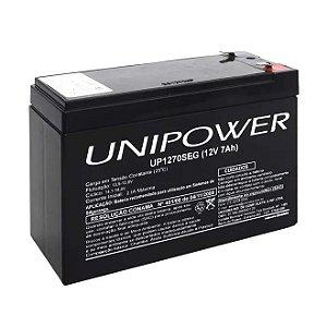 Bateria Selada Unipower Up1270seg 12v 7a