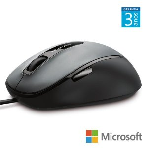 Mouse microsoft 5 botoes scroll optico comfort mouse 4500
