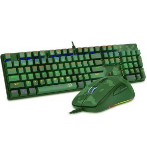 Kit teclado/mouse s108 light green