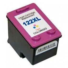 Cartucho De Tinta Hp 122xl Color Multilaser Pp123