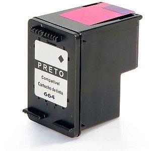 Cartucho De Tinta Hp 664xl Black Multilaser Pp664