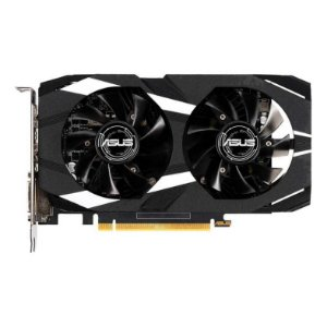 PLACA DE VIDEO ASUS GEFORCE DUAL-GTX1650-O4G, 90YV0CV2-M0NA00 (GPU GTX1650 OC 4GB DDR5)