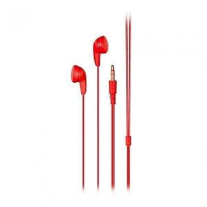 Earphone Play Vermelho Multilaser Ph315