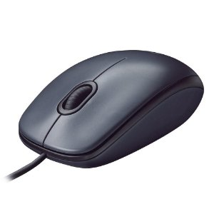 MOUSE OPTICO USB 1000DPI - LOGITECH M100 PRETO
