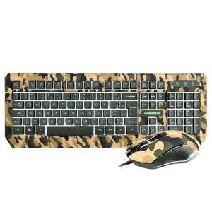 Warrior kyler combo teclado e mouse gamer army tc249