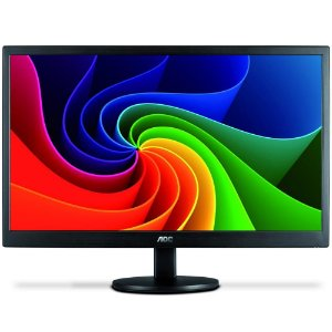 "monitor aoc 23,6"" led m2470swd dvi full hd vesa"