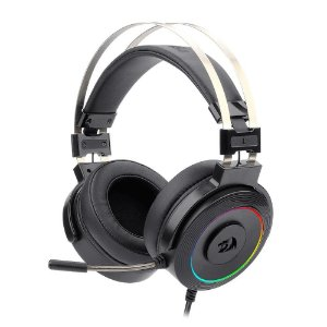Headset lamia 2 rgb surround 7.1 redragon preto