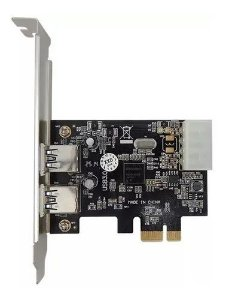 Placa pci-e jpu-03 usb 3.0 express 2portas feasso 510