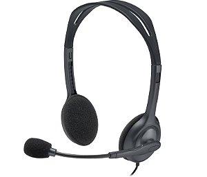 fone com microfone h111 logitech p3