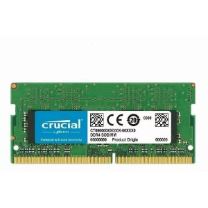 memoria notebook ddr4 8gb crucial 2666 mhz ct8g4sfs8266