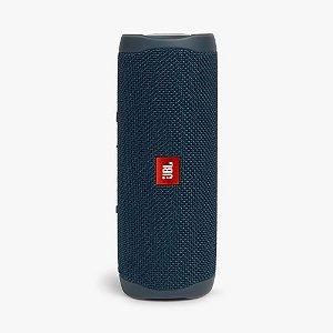 caixa de som jbl flip 5 bluetooth 20w rms azul