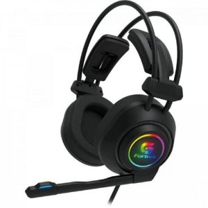 Headset Gamer RGB Vickers Preto FORTREK