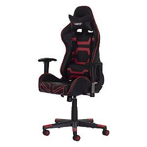 Cadeira Fx Gamer Preta Com Vermelha Fda5085prvm