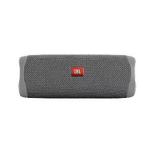 Caixa De Som Jbl Flip 5 Com Bluetooth - Cinza
