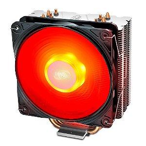 Cooler Gammaxx 400 V2 Led Vermelho Dp-mch4-gmx400v2-rd