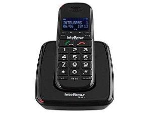 Telefone Sem Fio Intelbras Ts 63 V Preto Viva Voz